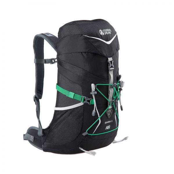Rucksack Stratos 18 Black / Green