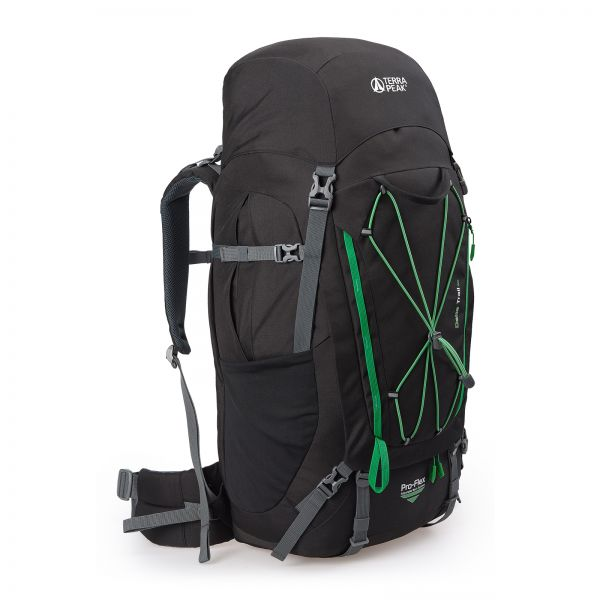 Delta Trail 65, black / green