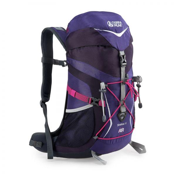 Rucksack Stratos 14 purple / dark purple
