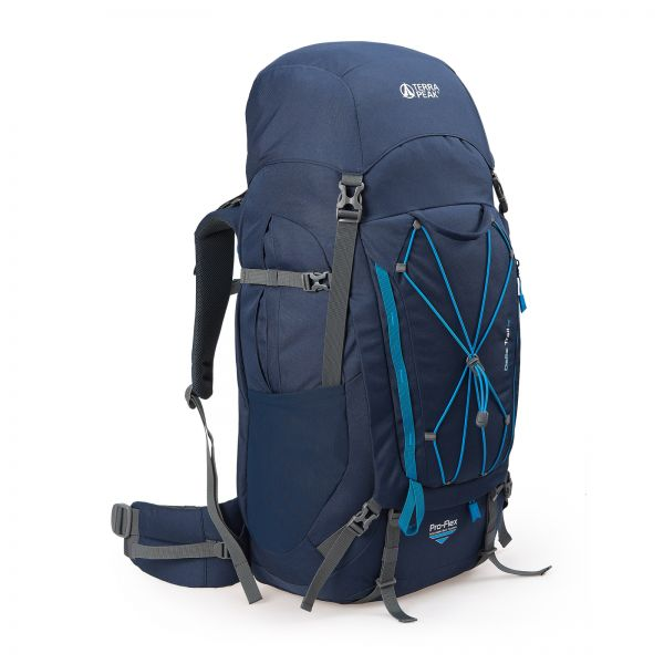 Rucksack Delta Trail 65, navy / blue