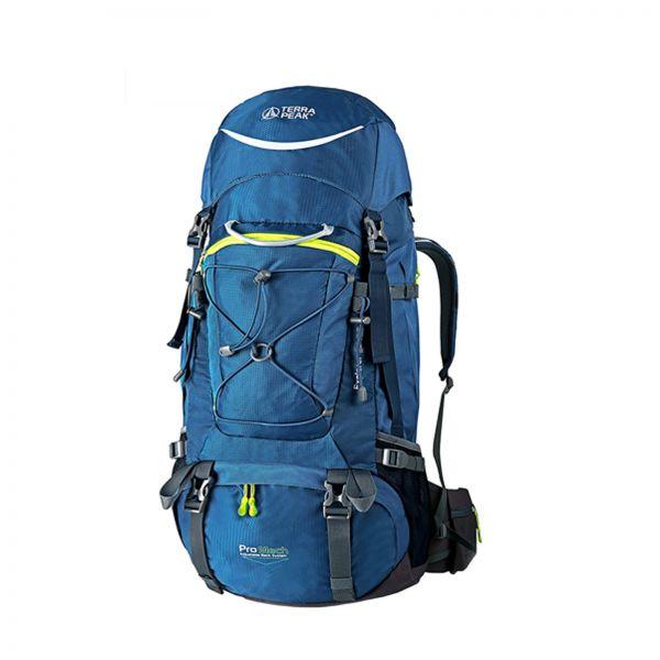 Rucksack Explore 65+20L, blue