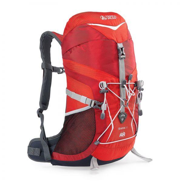 Rucksack Stratos 14 red / dark red