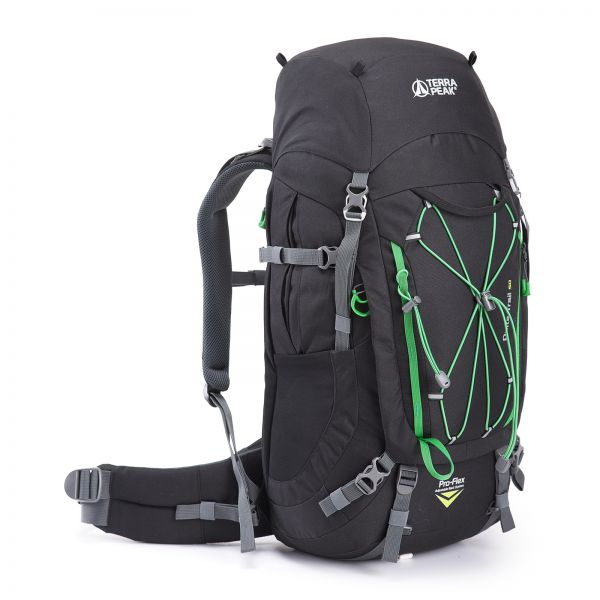 Rucksack Delta Trail 50, black / green
