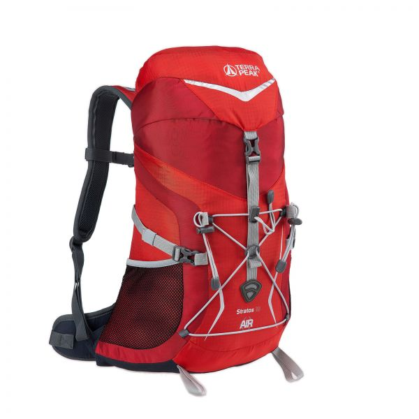 Rucksack Stratos 18 Red / Dark Red