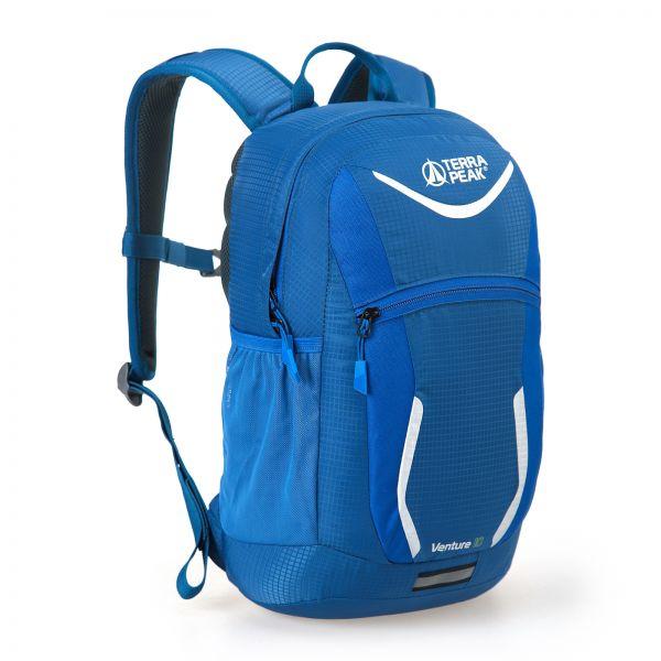 Rucksack Venture 12, navy / bright blue