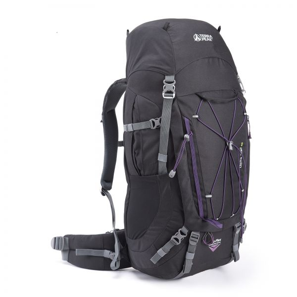 Delta Trail 65, black / purple