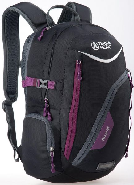 Rucksack Nexus 25L Black / Dark purple