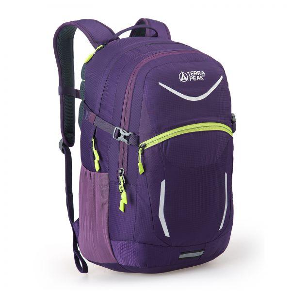 Rucksack Venture 32, purple / lime